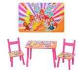 Столики стульчики санки