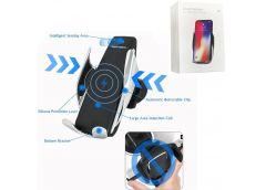 Утримувач мобільних телефонів S5 з безпровідною зарядкою