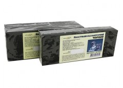Пластил Скульптурний Чорний  400гр 331027 Гамма (12)