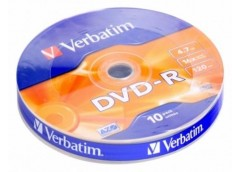 VERBATIM DVD-R 4.7Gb 16x Bulk 10шт. 43729 (200)