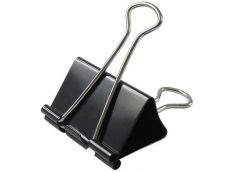 Біндери Buromax черн. 15мм BM  5306 (12/144)