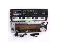 Синтезатор в кор 61 клавіш, мікрофон, FM-радіо від електр. 54*17*6см. MQ-010FM (...