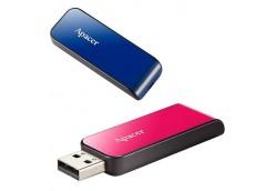Флешка APACER AH334 16GB Pink/Blue  AP16GAH334P-1 / U1