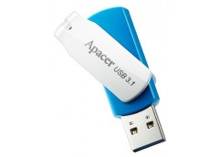 Флешка Apacer AH357  32GB USB 3.1 White/Blue  AP32GAH357U-1
