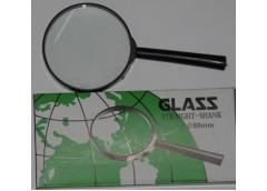 Лупа  GLASS 60 мм.пластиков оправа оптичне скло