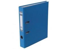 Папка-реєс LUX одност. BUROMAX  А-4, 5см. синій  3012-02с (10)