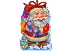 Кн З Новим роком! (зі шнурком): Дід Мороз  229448 (20)