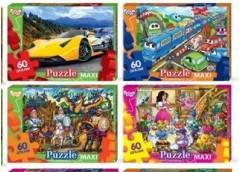 Пазли Puzzle 60 ел. maxi в асорт. (16) Danko toys