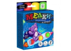 Крейда асфальтна Jumbo, 4 кол.  MEL-01-02 Danko toys (36)