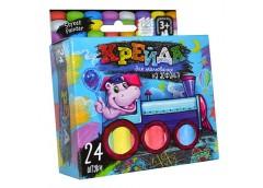 Крейда асфальтна тонка 24 кол.  MEL-02-05 Danko toys (24)