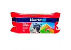 Губка Vortex кухонна 5шт  87801 (18) &&