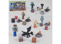 Супергерой в кор. Minecraft 32*19*6см. 19276-2  (60)