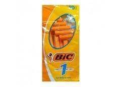 Станок  д/брит однор BIC 1 sensetive жовт 10шт (20) &&
