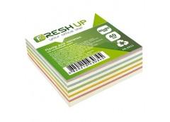 Папір д/нотат Fresh Up 80х80х40 арк. не клеєний мікс FR-2411/100415 (48)