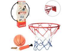 Баскетбольне кільце в кор, 25см. (мет.) сітка, м'яч, насос, 2 кол. 25*30*7см MR ...