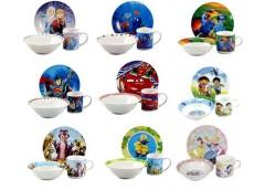 Набір дитячої посуд. 3 пр. фарфорова Ліцензія (12) ІНТР