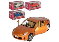 Машина Kinsmart метал інерц  в кор 1:34.12см відкрив двер, рез кол, 4кол, KT 506...