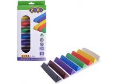 Пластилін Zibi Kids Line трикутна форма 8 кол. 200  г. ZB 6226 (1/12/96)