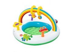 Басейн дитяч, арка, іграшки, рем. комп. в кор. 91*56см.  BW 52239 (8)