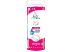 Ватні диски Lady Cotton за 80шт. косметичні 13184 (35)