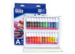Фарби акрілових Basics 24к по12мл  EA 2412 C (6)