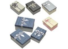 Коробка подарункова  3 в 1, 3шт. в наборі,  Вел. (маг=65) 1423-34/36 12310/2027/...