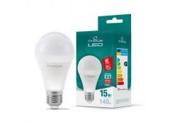 Лампочка LED 15 Вт E27 4100K 220В TITANUM  TL-A65-15274 (1)