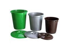 Бак для мусора 30 л. з кришкою Горизонт GR 02041