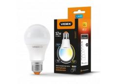 Лампочка LED 12 Вт E27  220В VIDEX  з регуліровкою кольору A60eC3 (1)
