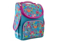 Рюкзак каркасний Smart PG-11 Funny owls 34*26*11см. 555930
