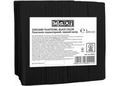 Пластилін скульптурний чорний 1 кг  MX60211 (18)
