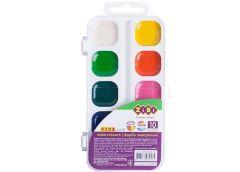 Акв. ZIBI 10 кольорів пластик без пензля 6543-10 (1/24)