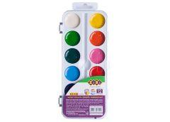 Акв. ZIBI 12 кольорів пластик без пензля 6544-08 (1/24)