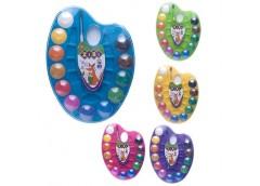 Акв. суха ZIBI  на палітрі 12 кольорів пластик з пензлем 6558 (1/24)