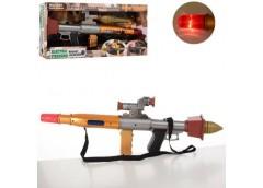 Автомат  гранатомет в кор. 52см, звук, на бат. SA931-37 (12)