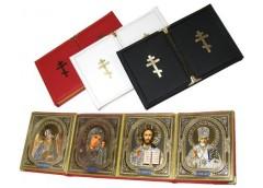 Ікона Книжка Шкіра Четвертна 20х33
