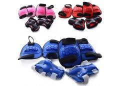 Захист для колін, локтів, запясток, 3 кольори, в сеткі, 19*29*9см  MS 0335
