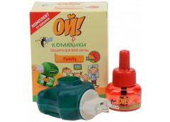 Захист від комарів набір фумігатор+жидкость від комарів