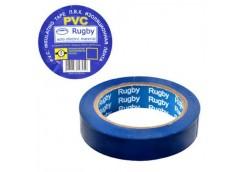 Ізолента ПВХ RUGBY Велика намотка  синя  50м. (200)