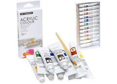 Фарби акрілові Basics 12к по 6мл  EA 1206 C (12)