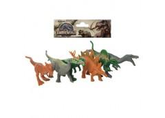 Динозаври в кул. 6шт. від 8см. 2 вид.  16*15*3см. HT18274 (84)