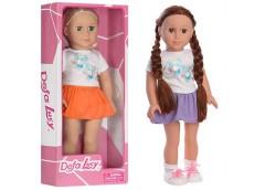 Лялька DEFA м'яконабивна в кор, 46см. 2 вид.48*20*11см. 5510 (6)