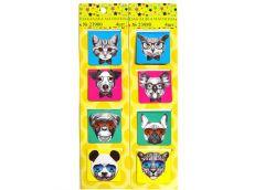 Губка для доски сухостираюч магнітна з  4 кольор. маркерами для доски Buromax BM...