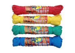 Вірьовка  поліпропіленова плетена з наповнювачем  d 1,5 100м  П-5-8 (...)