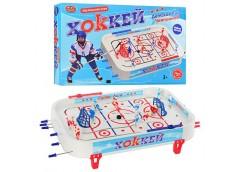 Хокей на штангі фігурки 14шт 2 шайби налейки в кор и59*35*7см 0700 (12)