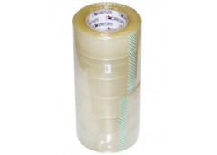 Стрічка клейка 48мм/225м 45мк 225-48СП (24) FRM