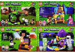 Констp MY WORLD, 8шт. в дисп. 48*19*16см.  63024  (8/18)