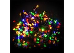 Герлянда 100 лам LED чорна, різнокольорова, кристал ламп, RV-19 (100)