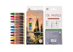 Олівець восковий 12 кол. Oil Pastels T912