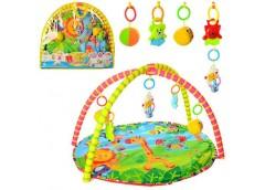 Коврик для немовлят з підвісками 5шт в сумці 518-17 (18)